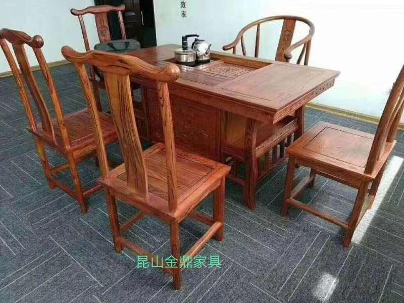 全新特价高档实木茶桌,榆木茶台,现货