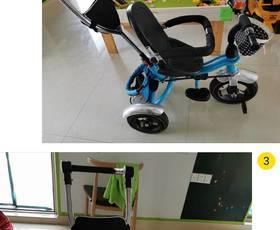 儿童三轮车脚踏车1-32-6岁宝宝婴幼儿手推车轻便大小号溜遛娃神器